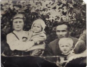 Liida, Reino, Onni ja Veikko n.1930.