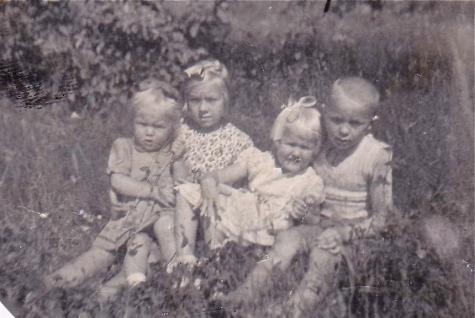 Paula, Ritva, Eeva-Liisa ja Tarmo.